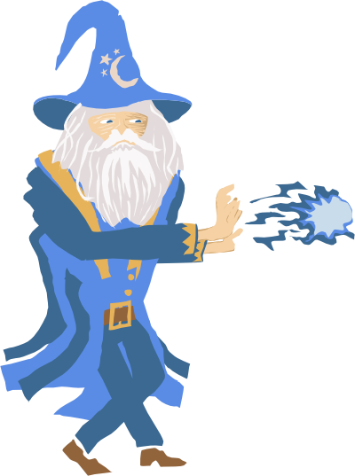 Browserify Wizard Mascot