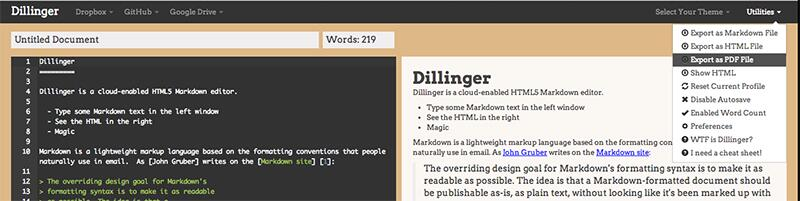 Dillinger screenshot