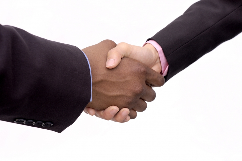 Stock photo of handshake