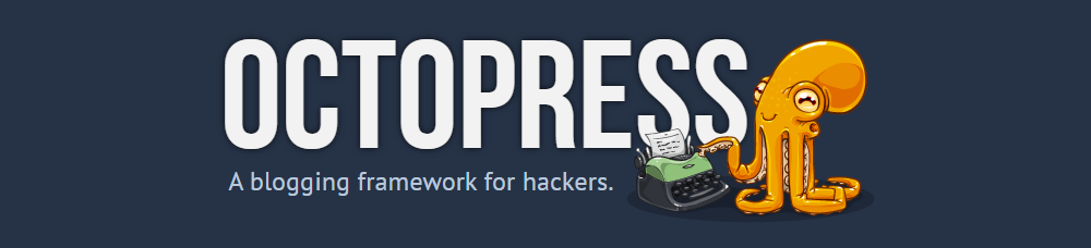 Octopress site masthead