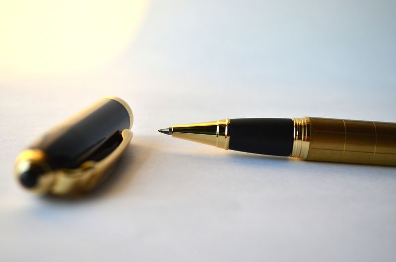 Stock photo of a nice ink pen
