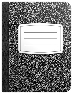 Image of a Composition Book