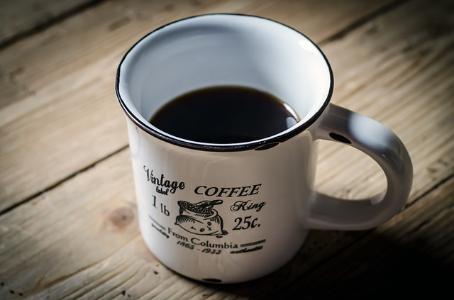 Stock Photo of coffee in mug