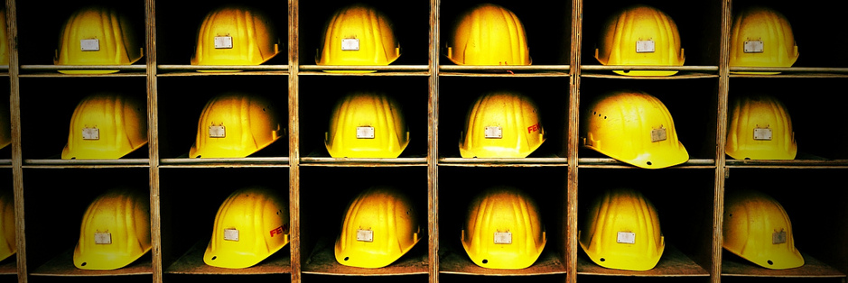 Stock Photo of hardhats