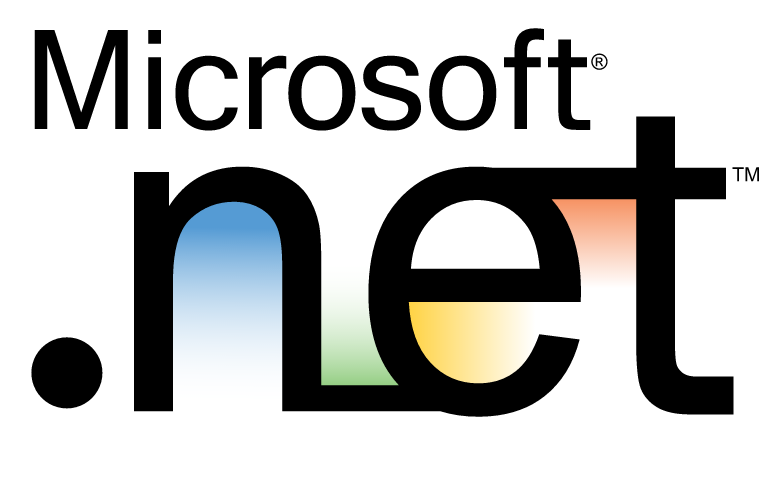 Screenshot of .NET logo